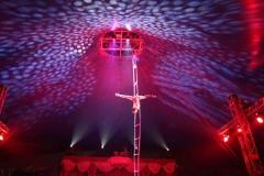 Zonic Music - Cirkus Baldoni Lysdesign