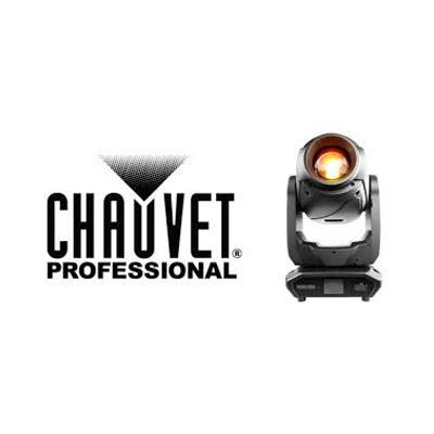Vi bruger udstyr fra Chauvet Professional
