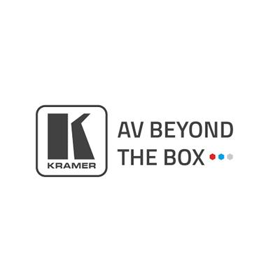 Vi bruger udstyr fra Kramer AV Beyond The Box