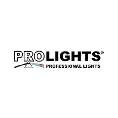 Vi bruger udstyr fra Prolights Professional Lights